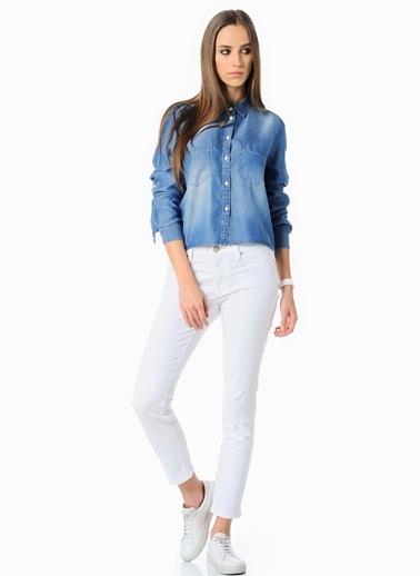 Jean Pantolon | Adriana Ankle - Super Skinny Mavi
